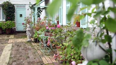 El jardín de Henri Le Sidaner en Picardía, Francia