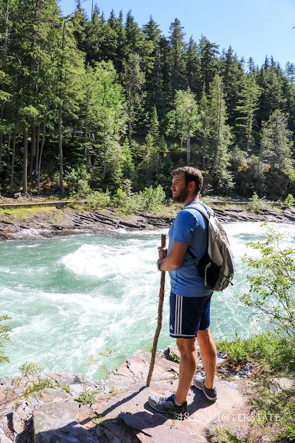 48 No Interstate back roads cross country coast-to-coast road trip Montana Glacier National Park