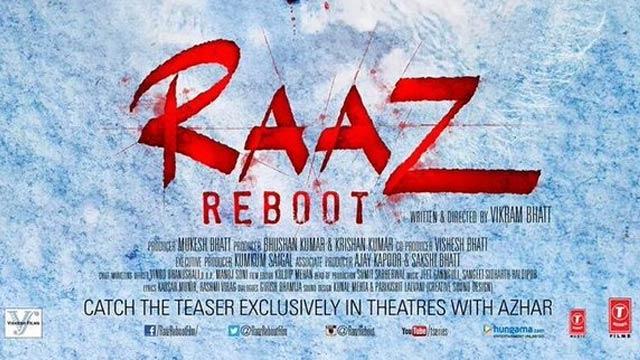Raaz Reboot, Raaz Reboot Poster