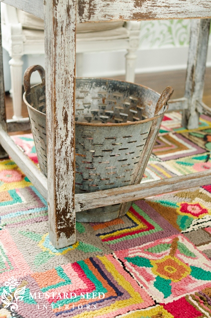 Decorating With Vintage Olive Buckets Driven By Decor