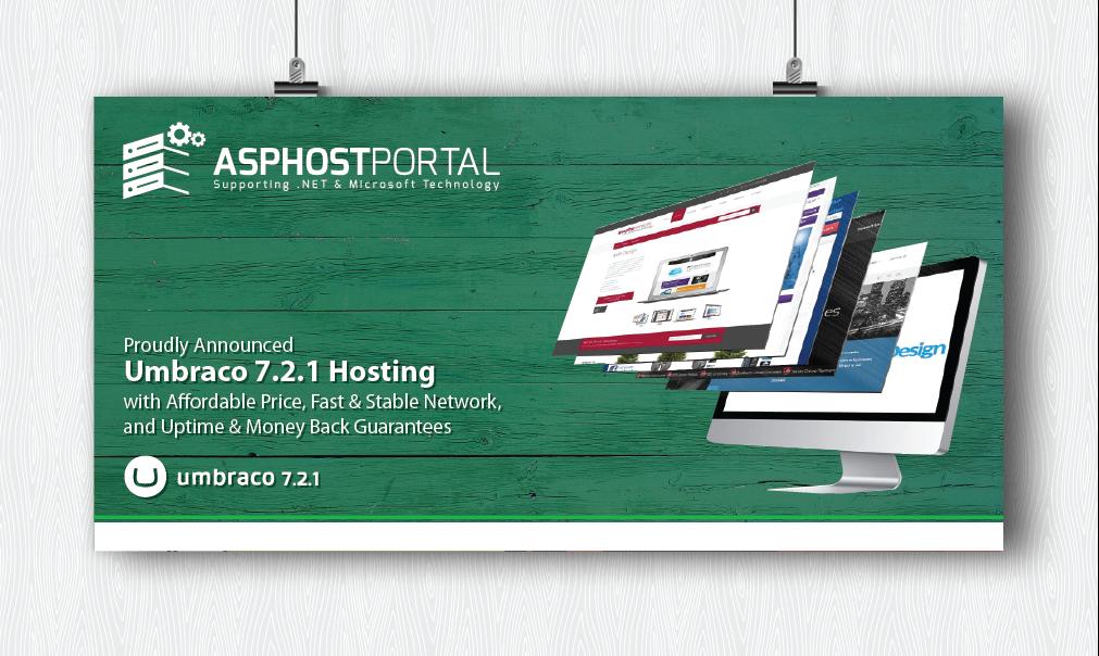 Best ASP.NET Hosting :: ASPHostPortal.com Proudly Announces Umbraco 7.2.1 Hosting
