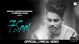 """Presenting latest punjabi sad song """"7 Saal lyrics"""" penned by Nek & music given by Penduz Boyz. 7 saal song is sung by Jerry."""