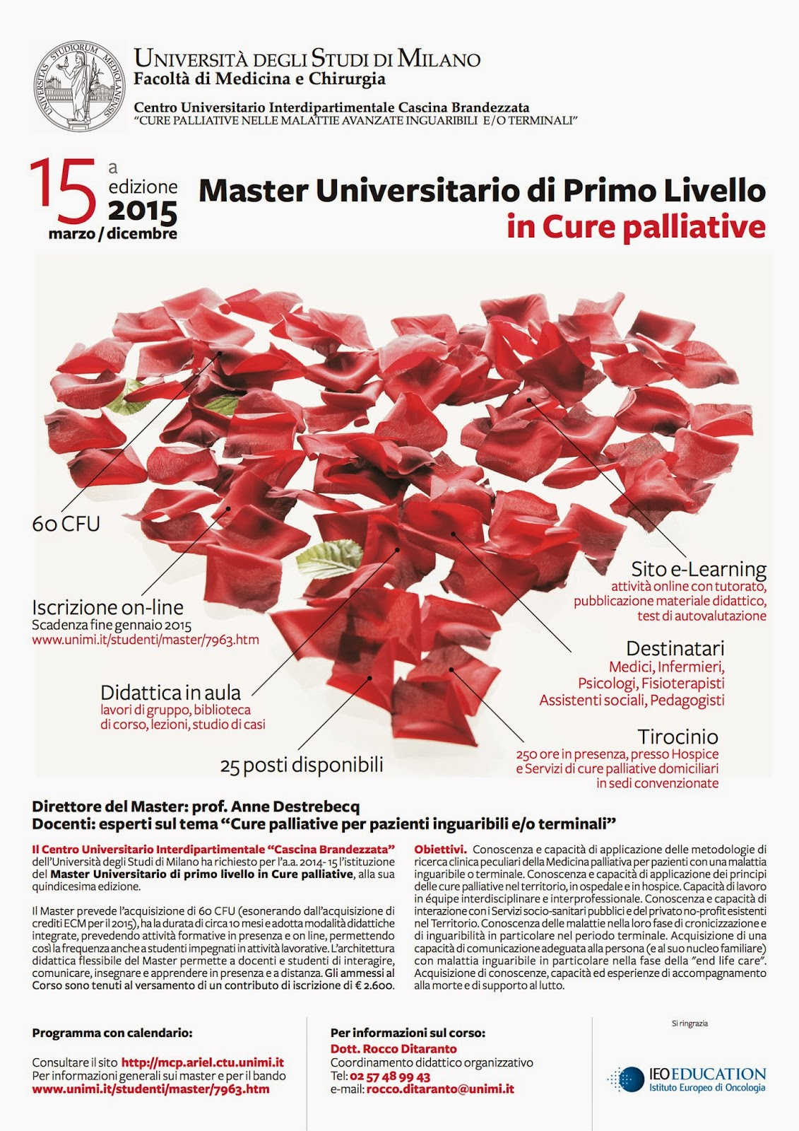 Calendario Unimi.Flashnews Simg Network 15 Corso Master Di I Livello In