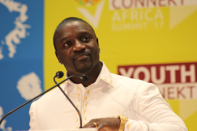Akon urged African youth to turn their challenges into profitable ventures