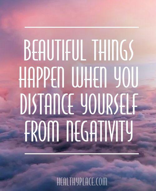 Negatiivisuus positiiviseksi