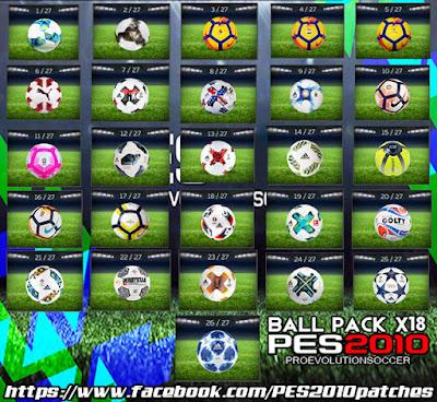 PES 2010 Ballpack X18.2
