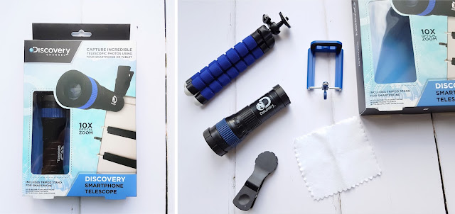 Discovery Channel gadgets for smartphone, mini telescope for travelling, smartphone telescope 10x zoom
