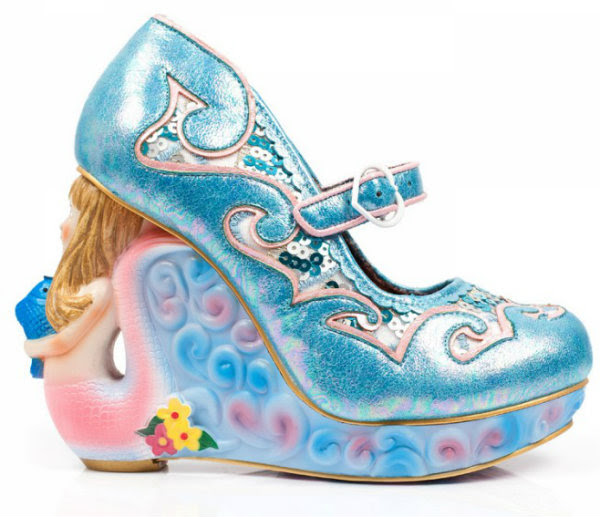 Irregular Choice siren of the sea mermaid blue