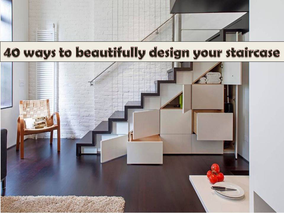 There are a lot of things you can do if you have a staircase at home. There are furniture and accessories that will give your staircase and beautiful outfit that will bring your interior into next level. Aside from this, you can make a storage under a stairwell in a different design. Here are some ideas to consider.