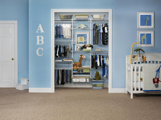 diy baby clothes closet organizer
