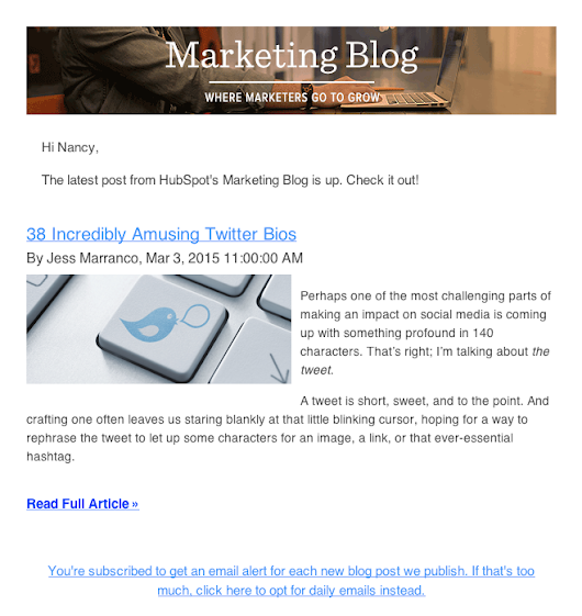 MARKETING BRILLO: This Is My Favorite Marketing Newsletter Because ...