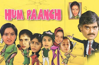 Hum Paanch TV Series poster