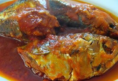 Resep Ikan Sarden Ungkep Kecap
