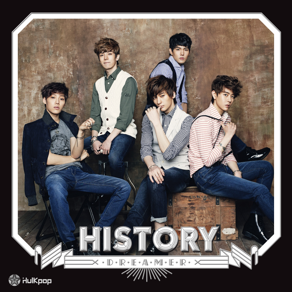 [Single] HISTORY – DREAMER