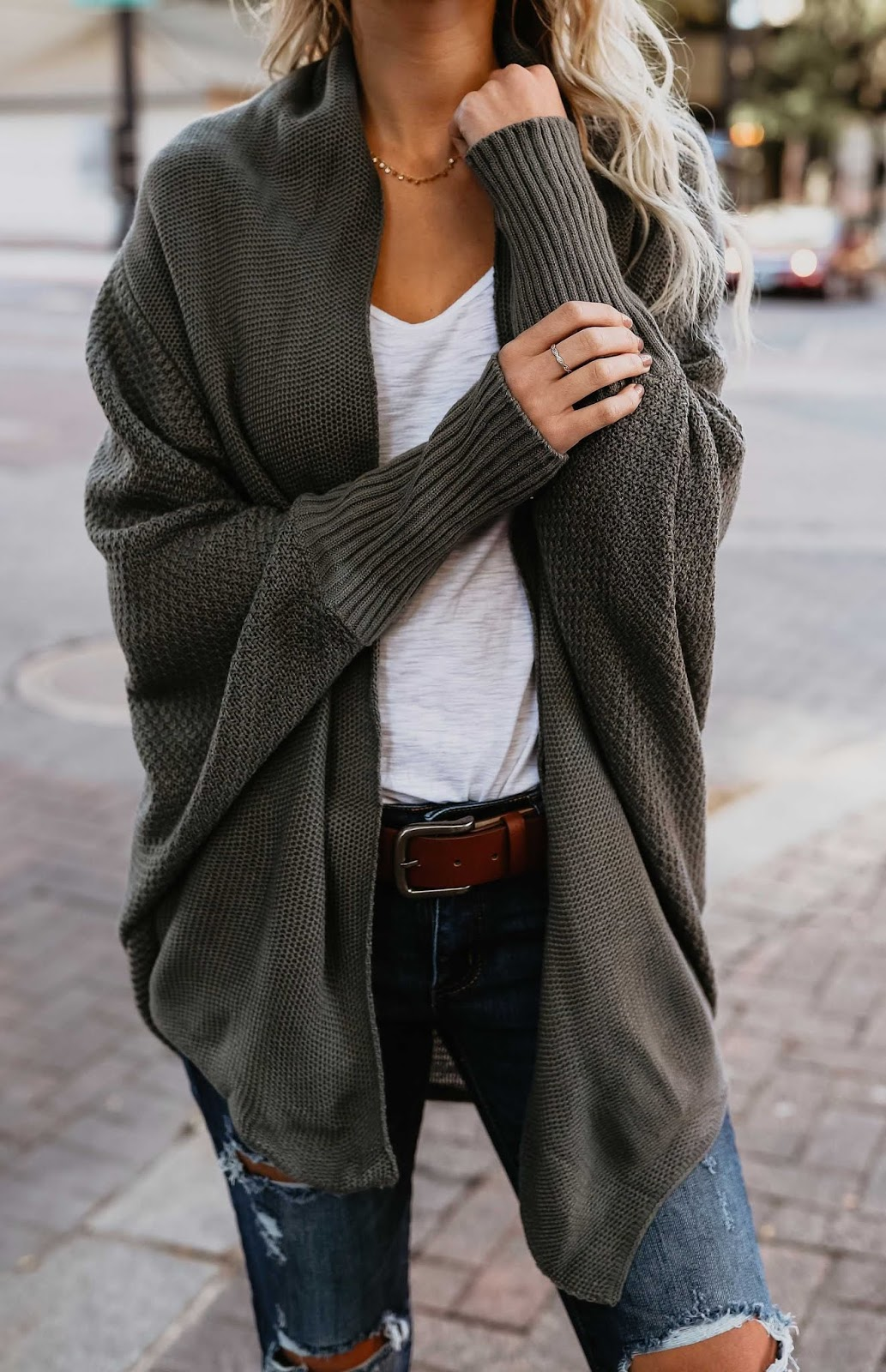 Totally Inspiring Womens Cardigan Outfit Idea For This Fall