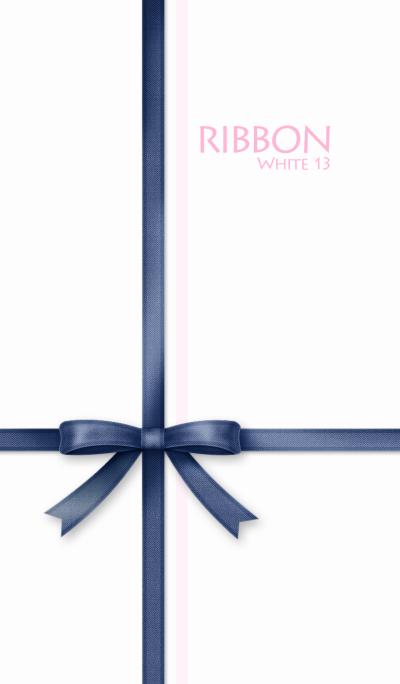 Ribbon/White 13