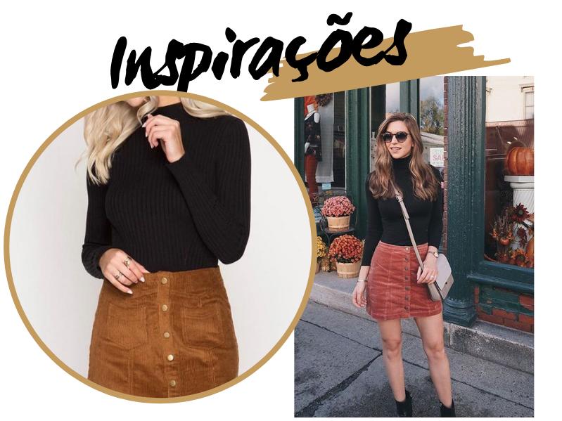 Como usar saia no inverno? Inspirações de Outfits