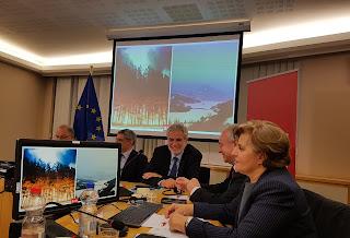 Στο Ευρωπαϊκό Κοινοβούλιο Η Περιφερειάρχης Β. Αιγαίου για την ενίσχυση της Πολιτικής Προστασίας και διαχείρισης των καταστροφών