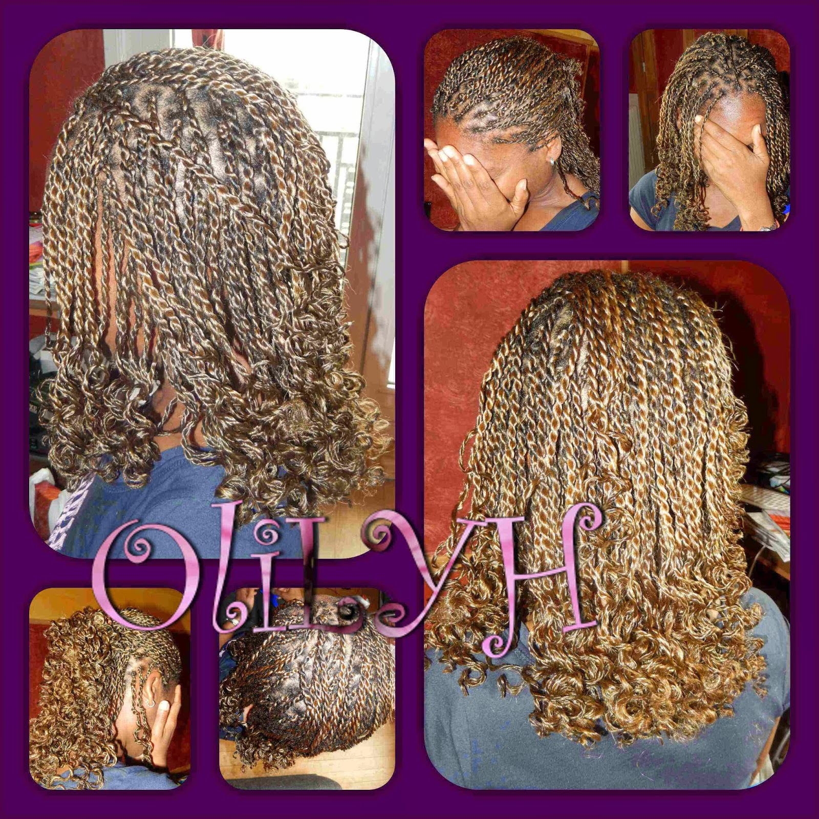 Coiffure Afro Nappy Olilyh Olivia Loves Your Hair Les Vanilles Twists