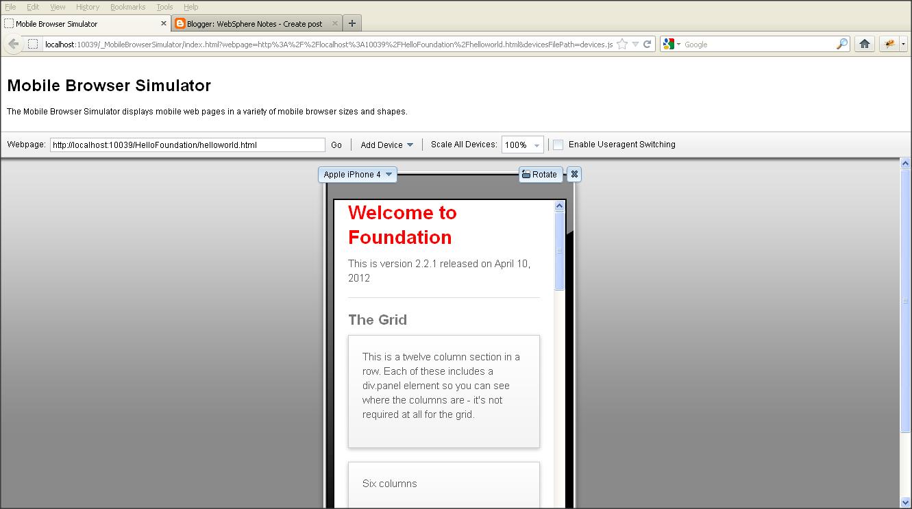 Browser Simulator