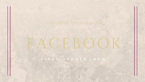Facebook Image Sizes Update