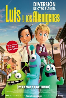 Luis And The Aliens 2018 DVD R1 NTSC Latino Cam