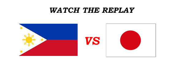 List of Replay Videos Philippines vs Japan 38th Jones Cup 2016
