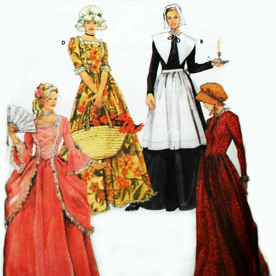 A costume pattern for all your period costume needs  sc 1 st  the sewinghappyplace & A costume pattern for all your period costume needs | the ...