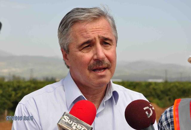 Γ. Μανιάτης προς Υπουργό Αγροτικής Ανάπτυξης: Να αποκατασταθούν οι ζημιές στη διώρυγα Αναβάλου