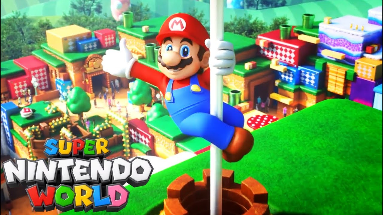 Super Nintendo World: el parque temático de Nintendo que abrirá sus puertas este 2020