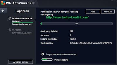 Lakukan Scan Malware Penuh pada PC Anda