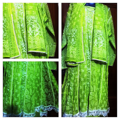 """Jyothi Creations of Delhi offer an exclusive range of Ladies dress material, suits and kurtis. """"Either it is Phulkari from Punjab, Kantha from Kolkata, Bandhej (Bandhani) from Jodhpur, Chikan from Lucknow, Kashmiri from Srinagar, Patialas, Stoles or Semi / Half stitched kurtis, we have uncompromisingly kept in tune with the changing trends of Indian fashion & attitude of the urban Indian woman"""", says Pooja N. Rao, the owner."""