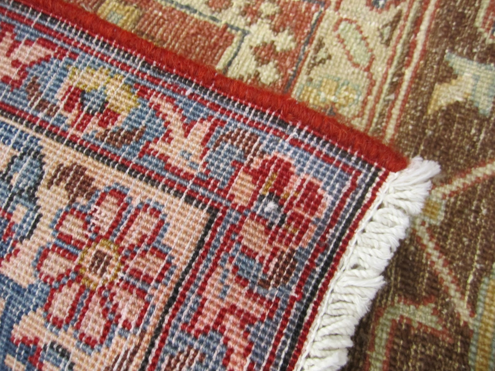 Hand Knotted Rugs Machine Made Area