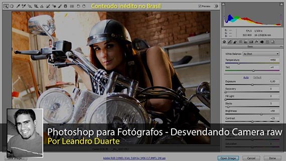 Curso Photoshop Camera RAW