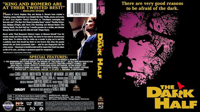 The Dark Half Bluray Cover