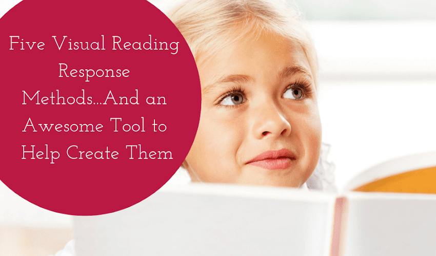 Five Visual Reading Response Methods...And an Awesome Tool to Help You Create Them