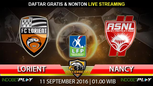 Prediksi Lorient vs Nancy 11 September 2016 (Liga Prancis)