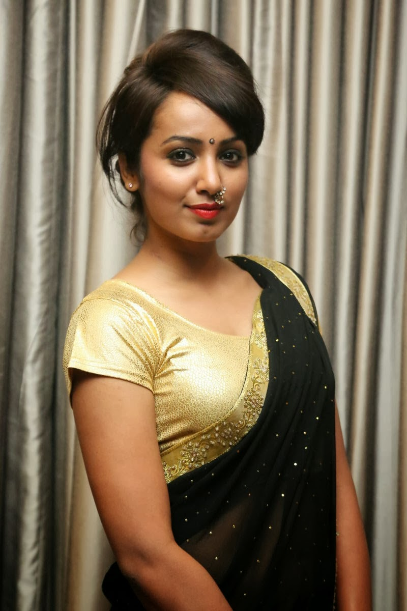 Actress Tejaswi Latest Cute Hot Exclusive Black -4147
