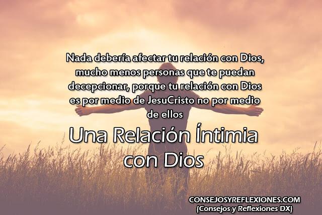 relación íntima con Dios