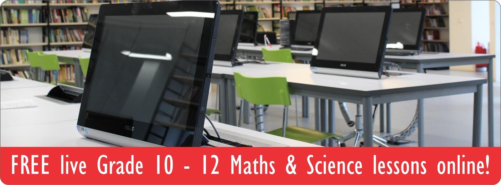 SchoolNet SA - IT's a Great Idea: Wow! Free Gr 10-12 Maths ...