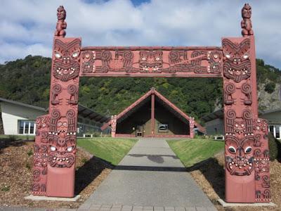 Mataatua Wharenui: the house that came home, Nueva Zelanda