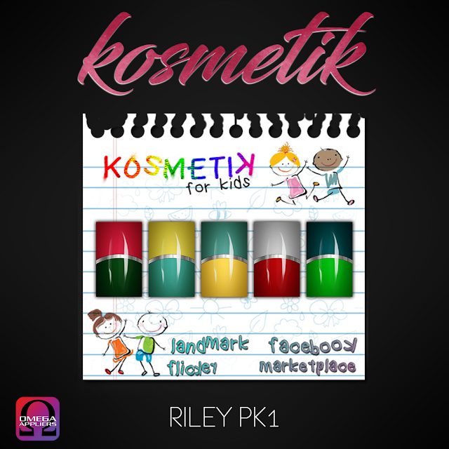 .kosmetik Kids Riley Nails