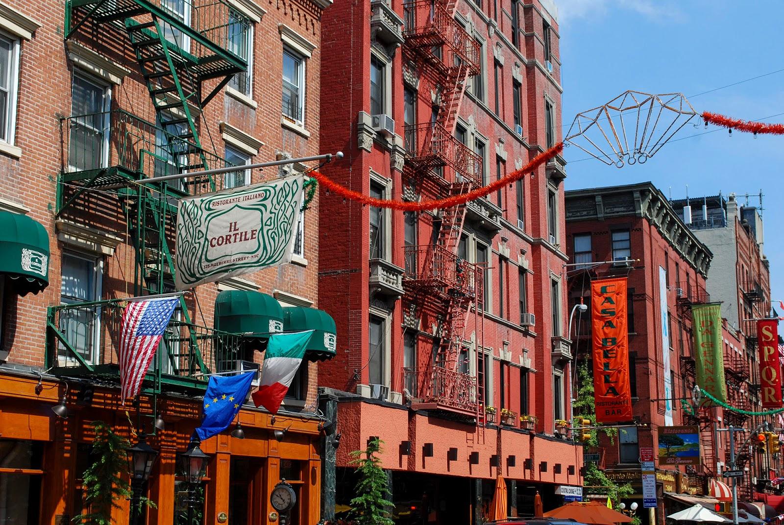Little Italy Manhattan NYC