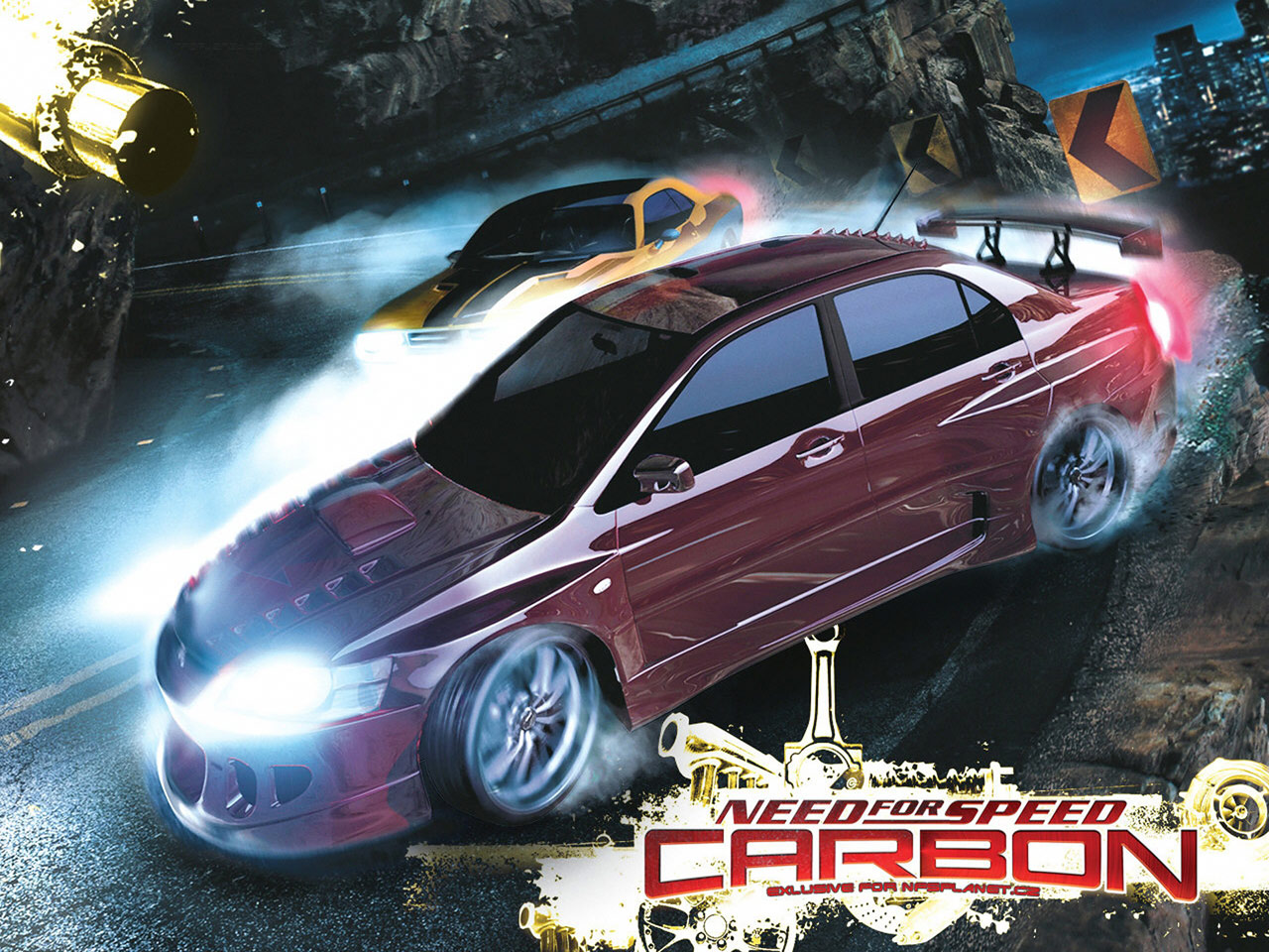 Click To See World: Need for speed carbon wallpaper