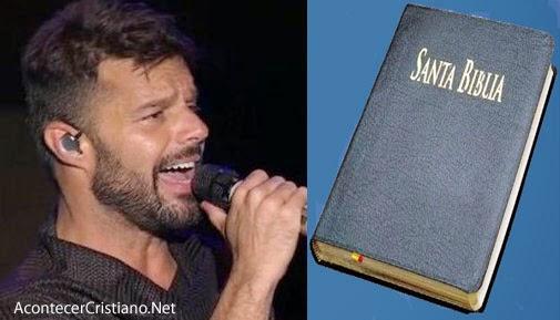 Ricky Martin habla sobre unión civil y la Biblia
