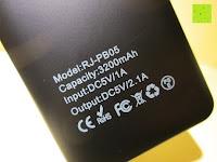 Symbole: Swees® 3200mAh Ultra-kompakt Externer Akku Smart-USB (Smartport für maximale Ladegeschwindigkeit) Powerbank Power Bank Ladegerät Powerpack Zusatzakku für iPhone 6 Plus 5S 5C 5, Samsung Galaxy S3 S4 S5 S6, Note 3 4, Tab 4 3 2 Pro, Nexus, HTC One, One 2 (M8), LG G3 und andere Smartphones MP3 MP4 Player - Schwarz