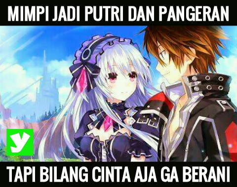 Meme Anime Terbaru Keren Lucu Romantis