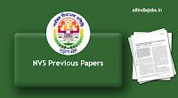 NVS LDC Previous Papers