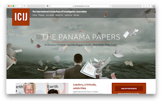 Panama Papers site