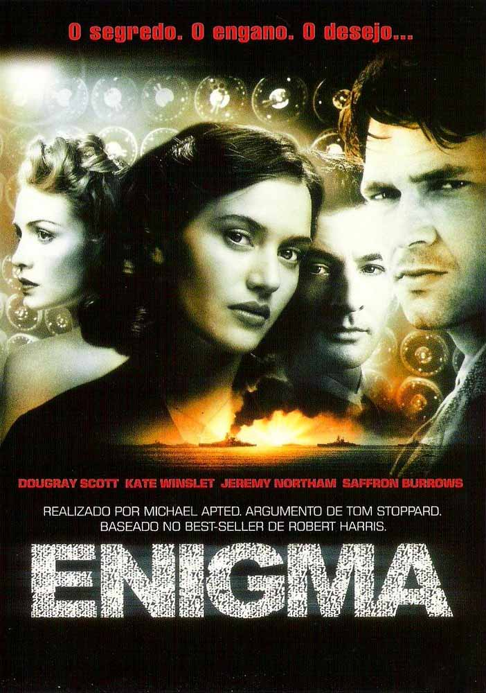 Enigma Torrent - Blu-ray Rip 720p e 1080p Dual Áudio (2001)